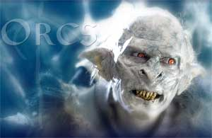 Orcs character in Lord of the Rings